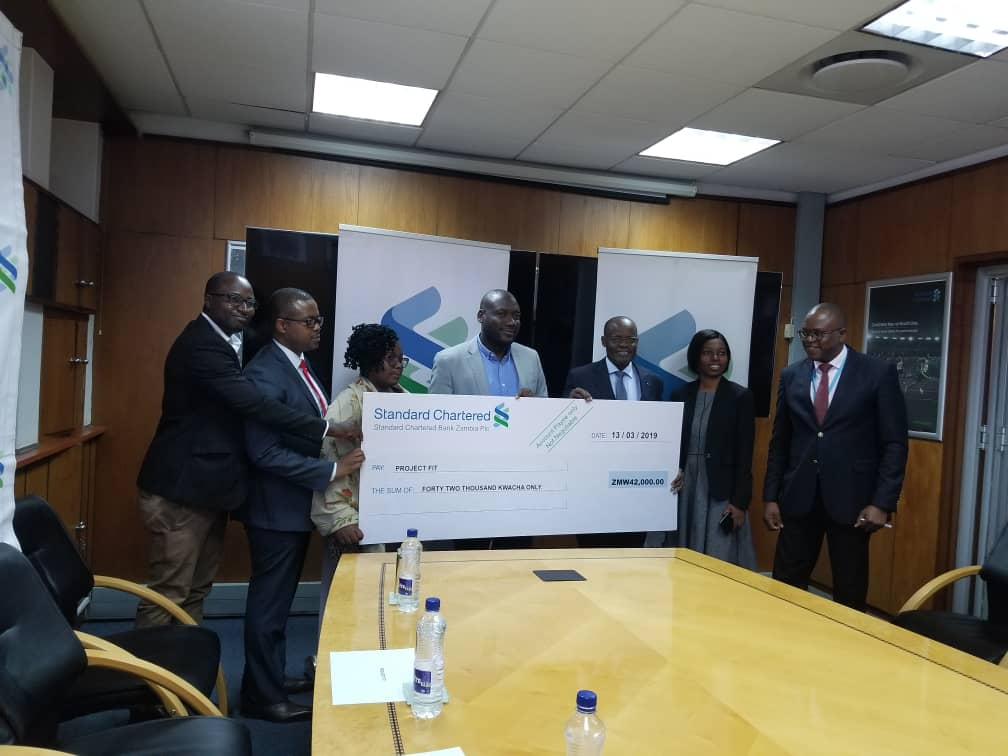 StanChart Zambia and Project Fit Challenge
